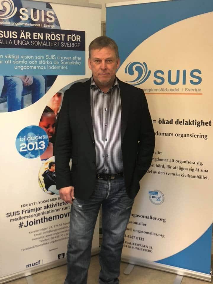 Peter Söderlund från X-CONS  besökte våra lokaler för att diskutera framtida samarbete.