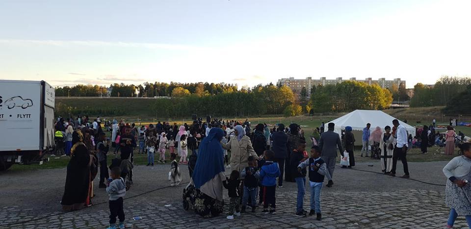 Järva kultur festival- Fest och politik, på Eggeby gård, 21-22/8 2018