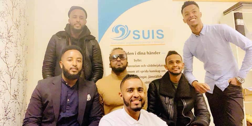SUIS fick besök av artisten Marwan Yare och AIdurus Hassan